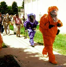 Haz Mat Team cleans known Colorado meth lab
