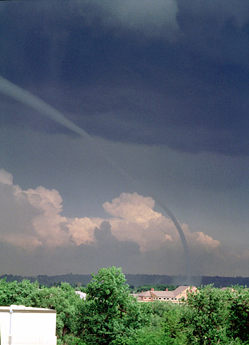 Rare Boulder, Colorado Tornado