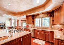 Well proportioned country kitchen
