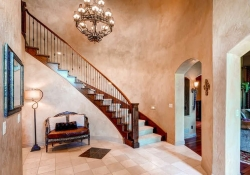 Formal front staircase