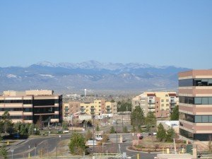 Centennial colorado Denver Suburb