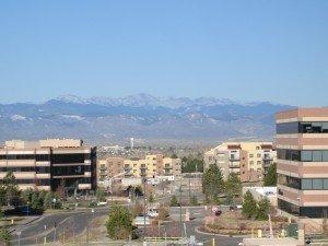 Centennial colorado Denver Suburb