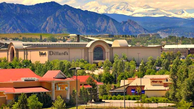 Flatirons in Broomfield is a regional fashion mall.