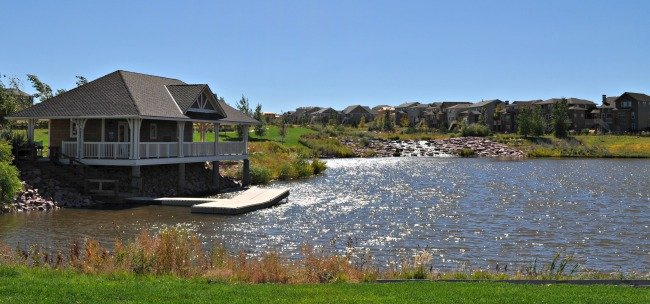 aurora colorado offers new homes on the water in southshore