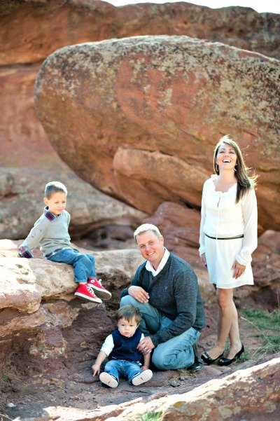 Colorado is a great place for family to enjoy outdoor living. We sure do!
