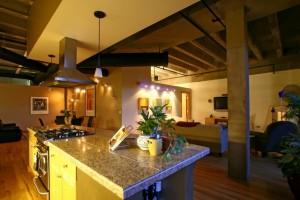 Brooks Tower Loft Kitchen