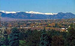Best Denver Suburbs have mountian views