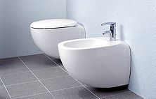 This is the typical bidet arrangement.