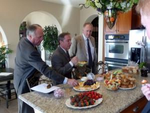 Breakfast foods are often served on Kentwood Broker Tour