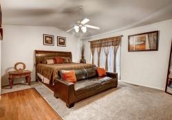 4815 Crystal Street Denver CO Master Bedroom
