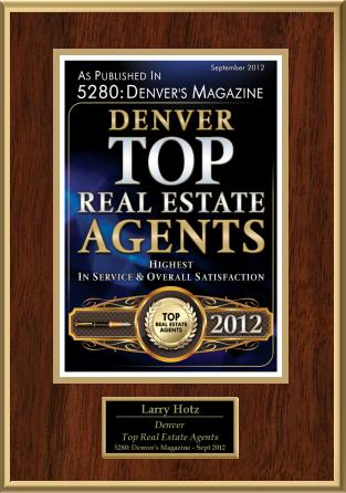 Award winning Denver Realtor