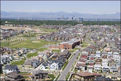 Stapleton Neighborhood View