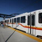 DIA light rail car