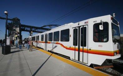 DIA light rail car
