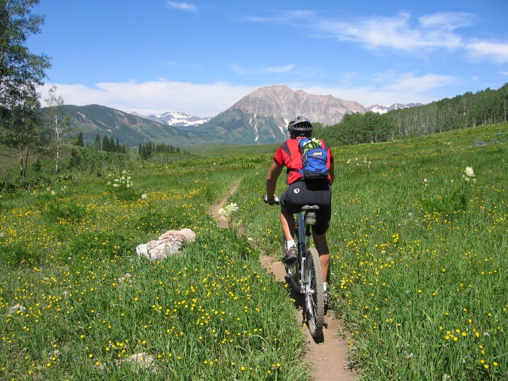 Outdoor recreation bicycling