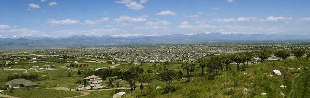 highlands ranch colorado homes and view