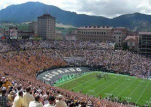 University of Colorado at Boulder is close to Denver's northern suburbs