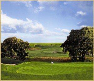 Blackstone golf course in Aurora Colorado