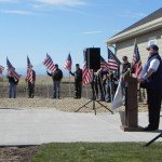 Realtors honor veteran with specially equipped home.