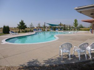 Outdoor Pool at Highpoint in north Denver suburbs