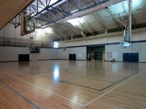 Lone Tree Recreation Center Basketball courts