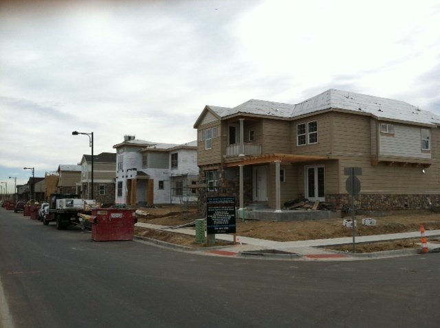 Stapleton new homes