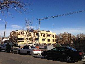 Lower Highlands Court construction