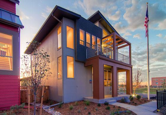 Stapleton has the best selection of new contemporary homes in Denver. People are willing to pay more from my experience selling dozens of these homes.