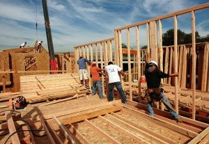 New home construction is booming in Denver's northern suburbs.