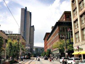 Downtown housing