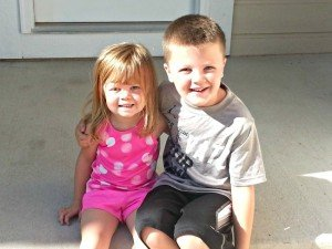 Children at Highlands Ranch Home