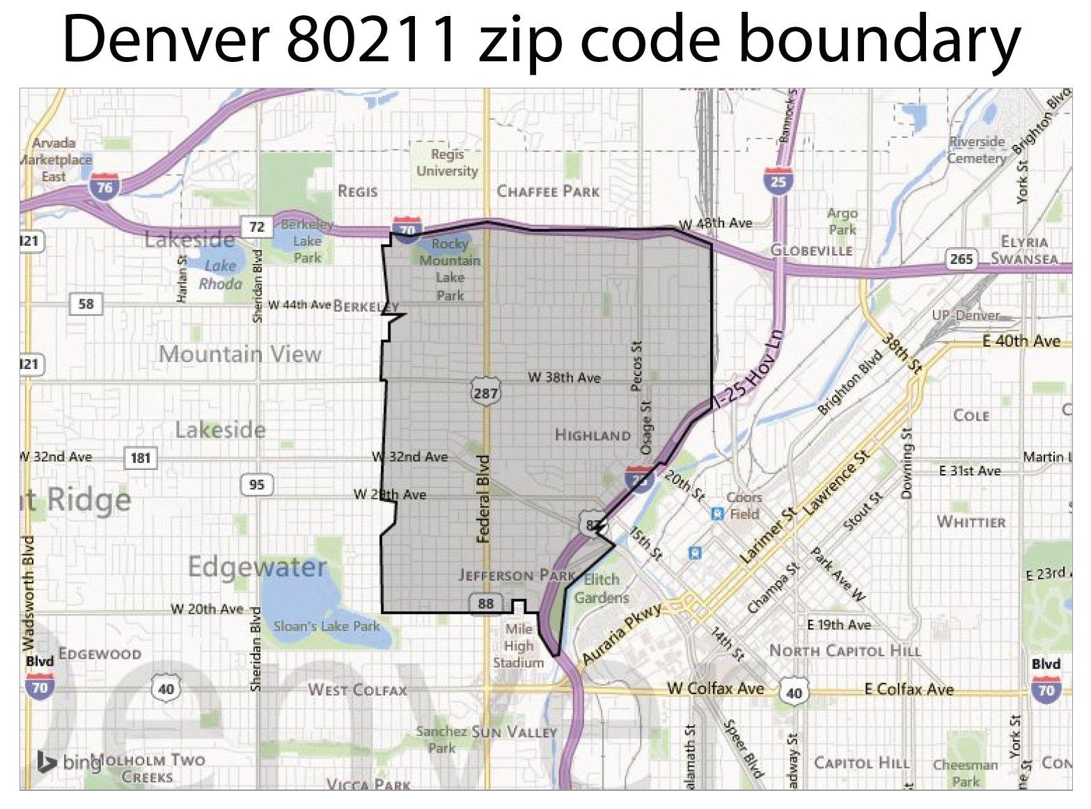 100 Louisville Zip Code Map