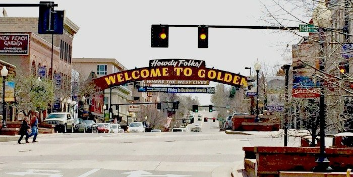 Downtown Golden Colorado
