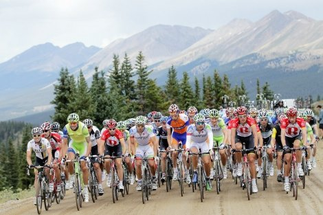 Evergreen, Colorado is a Denver suburb hosting many cycle competitions and events during the summer.