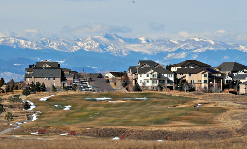 Even the grass of golf courses is starting to turn green as the Aurora real estate market heats up.