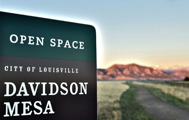 Open space and outdoor activities abound in and near Lousiville, a Denver suburb.