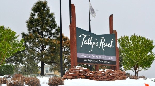 Both resale and new homes are options for buyers in Tallyn's Reach