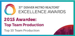Denver Metro Association of Realtors Award