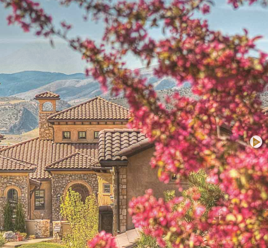 Many of the homes at Soltera have Italian themes. But, there is a wide variety of styles.
