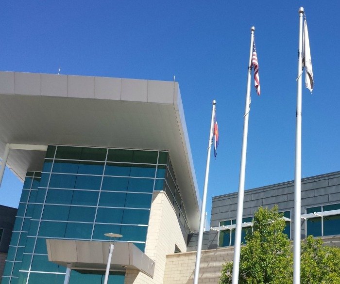 The Commerce City Civic Center COurthous serves Reunion and all of this northern Denver suburb.