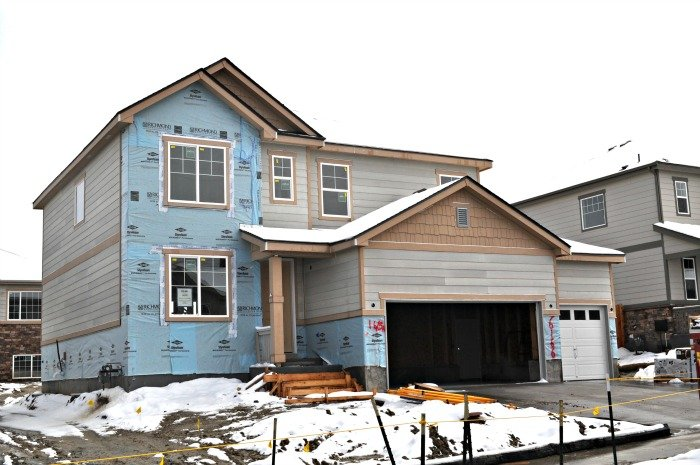 Aurora winters even slow down the building of new homes in area such as Wheatlands