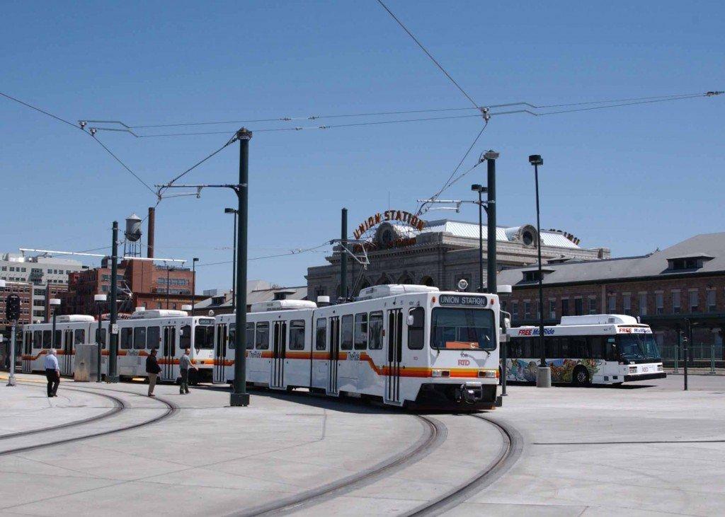 Existing Denver Light Rail Train