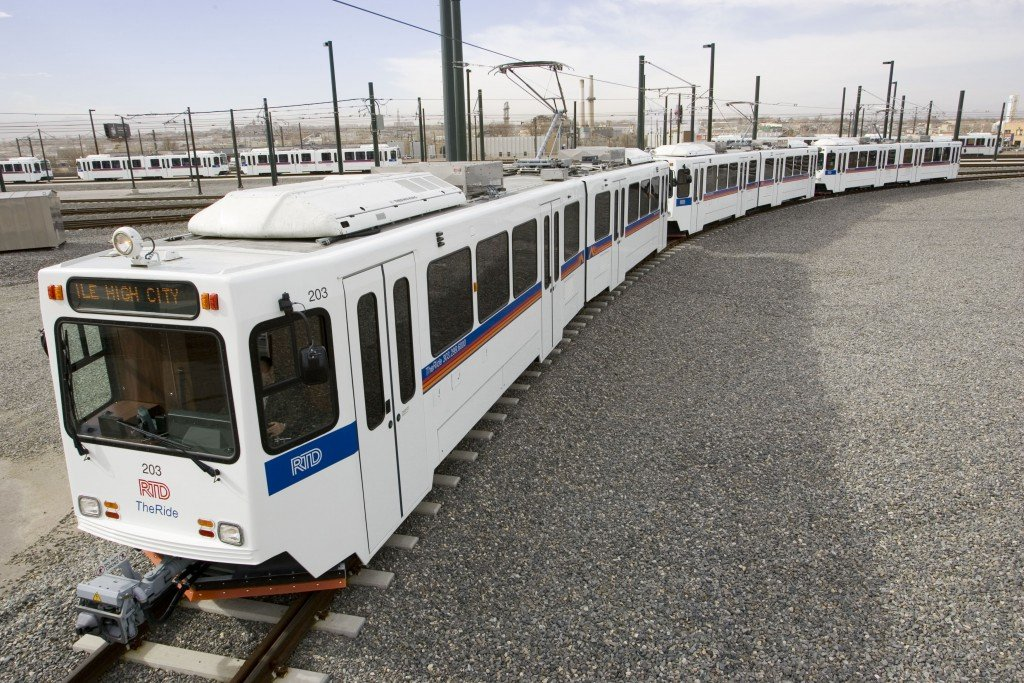 This new train to Denver International Airport will run on Conventional Rail instead of light rail.