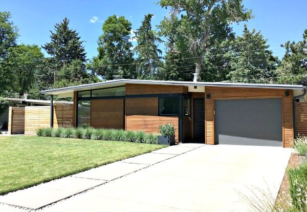 Denver mid century modern homes