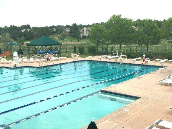 Swimming Pool at The Preserve