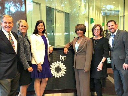 British Petroleum Lowe4-r 48 division in Houston