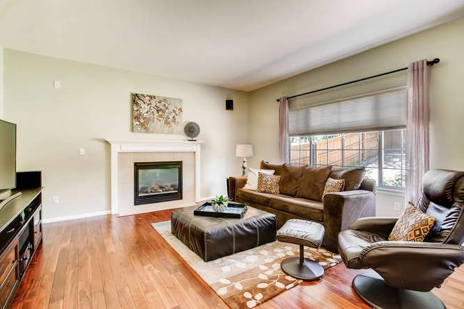 Family Room in Highlands Ranch