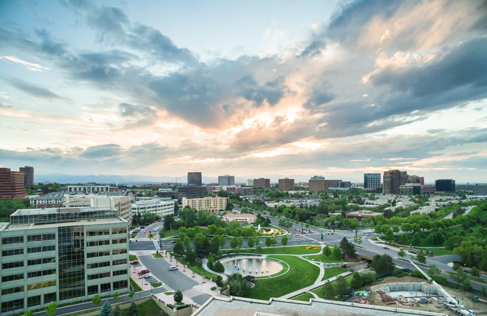 Bird's Eye View of Denver Tech Center
