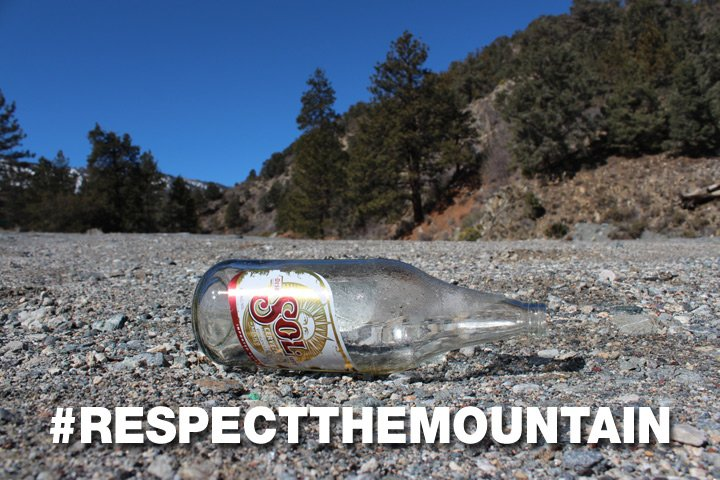 Evergreen Colorado Trash