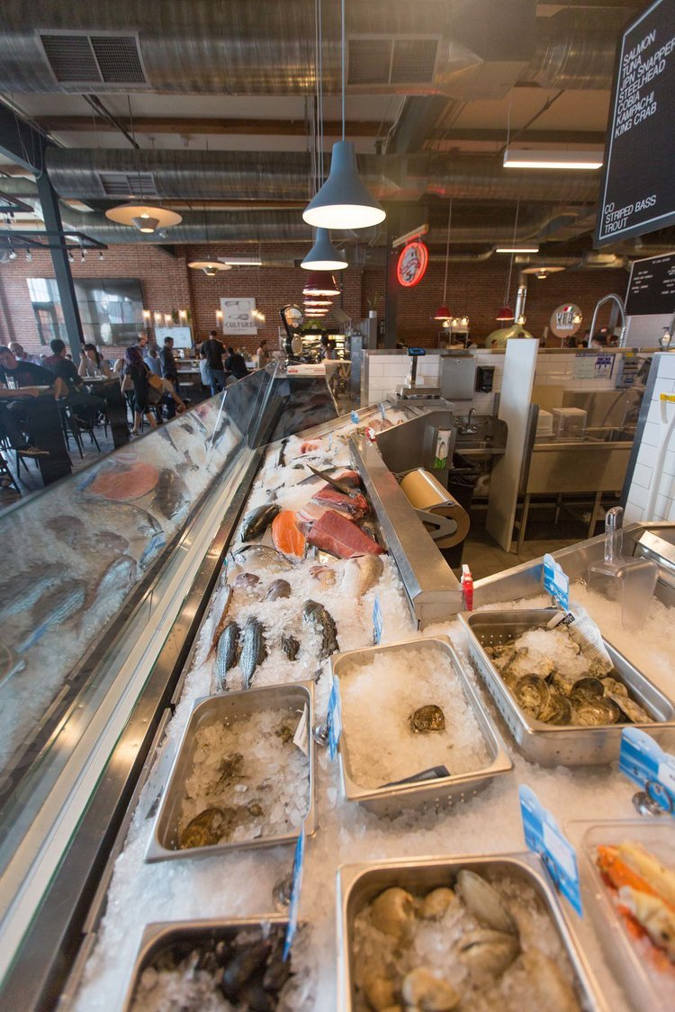 Denver central market in river north r ino matal knows for Central fish market